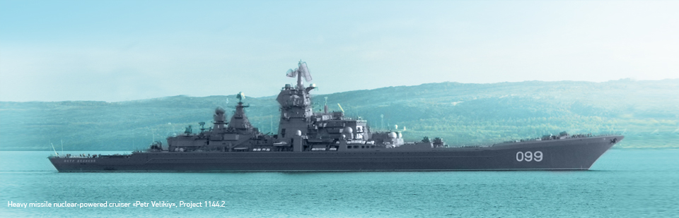 Heavy missile nuclear-powered cruiser «Petr Velikiy», Project 1144.2